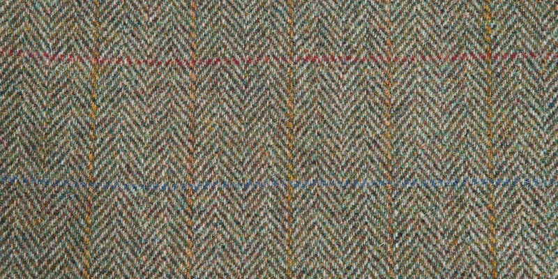 Close up of Tweed material